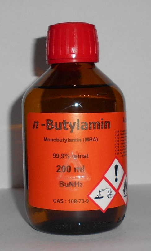 200 ml n-Butylamin 99,9%, MBA, Weichmacher, Emulgator