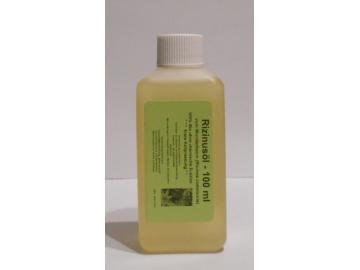 100 ml Rizinusöl vom Wunderbaum (Ricinus communis), 100% Bio, 1te Kaltpressung