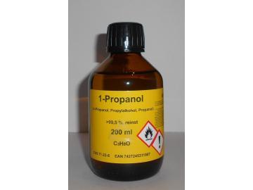 200 ml 1-Propanol 99,5%, n-Propanol, Reinigungs- und Desinfektionsmittel