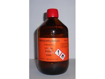 500 ml Methylethylketon 99%, (2-Butanon) als Lösungsmittel für Vinylharze