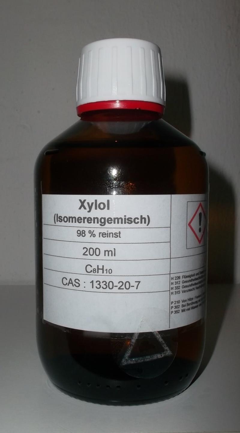 200 ml Xylol,98% (Isomerengemisch) Lackverdünner, Entfettungsmittel