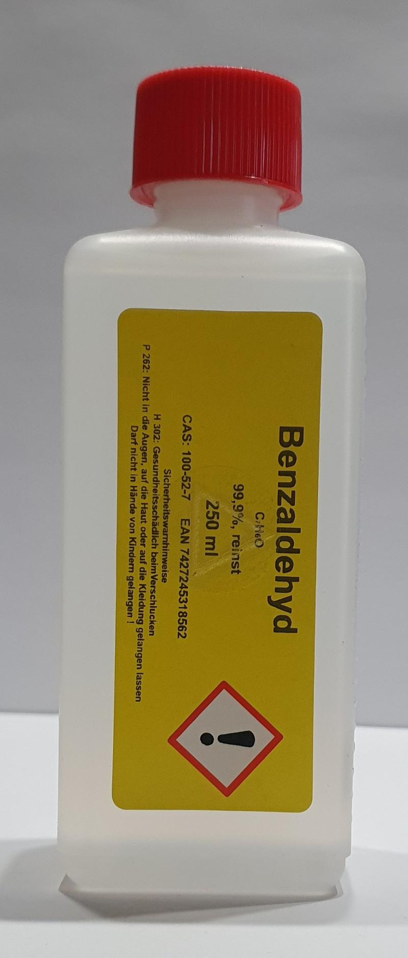 250 ml Benzaldehyd Benzaldehyde 99,9% Bitter Mandel Aroma