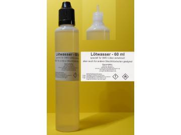 60 ml Lötwasser, Flussmittel speziell für SMD (no clean, Säurefrei)